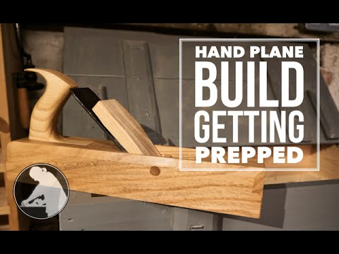 Prepare To Build A Laminated Wooden Hand Plane
