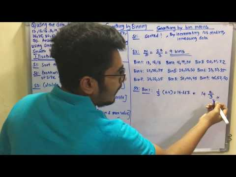 Data Mining & Business Intelligence | Tutorial #11 | Smoothing by Binning (Solved Problem)