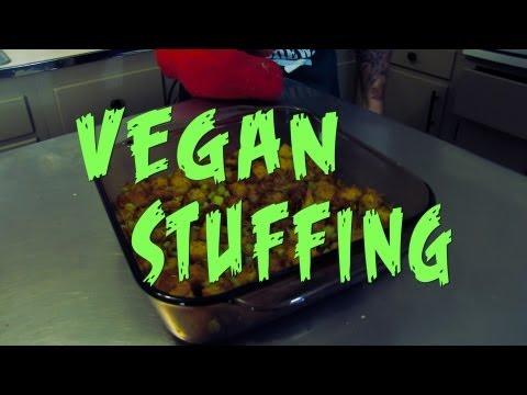 Easy Stuffing Recipe | Vegan | The Vegan Zombie