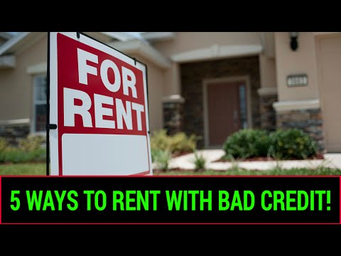 5 Ways To Rent With Bad Credit - EZ Choice Financial Credit Repair