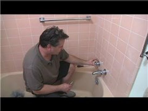 Bathroom Fix-It Tips : How Do I Fix a Shower Handle?