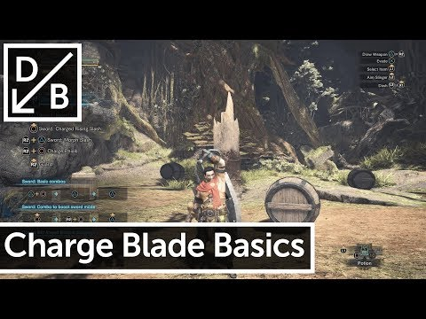How to Use the Charge Blade - Monster Hunter World