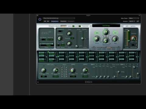 Logic Pro X Deutsch - Exs24 Sampler Grundlagen 1/2 - Logic X Tutorial 46