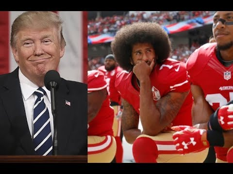 Winning: NFL players must stand during the National Anthem Or Be Fined