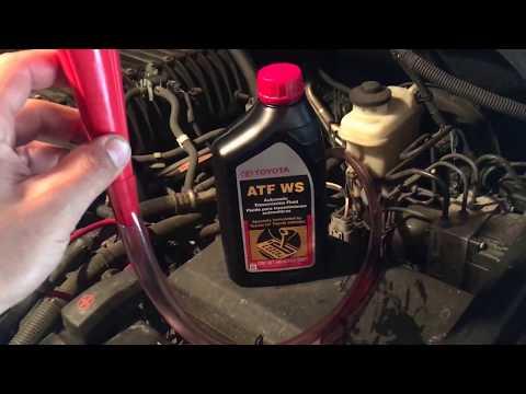 Toyota Tundra ab60e transmission oil fill Atf