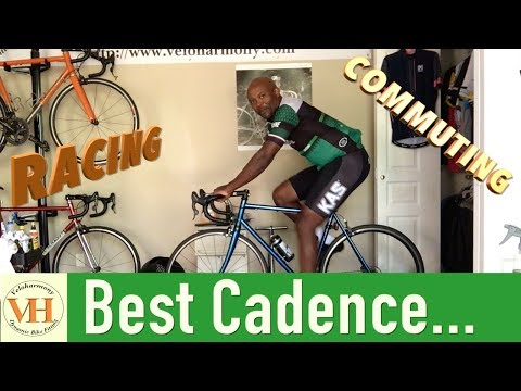 The most efficient road cycling cadence