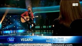 "Idol Norge 2011 - Vegard Leite - ""Dear God"" (Avenged Sevenfold)"
