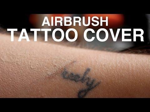 TUTORIAL | Airbrush Tattoo Cover