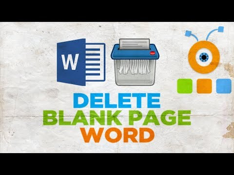 How to Delete a Page in Word | How to Delete a Blank Page in Word
