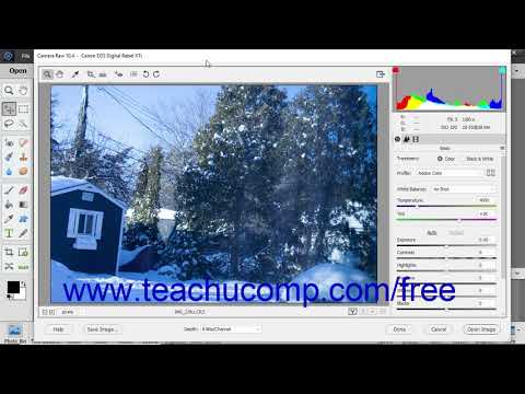Photoshop Elements 2019 Tutorial About Processing Camara Raw Files Adobe Training