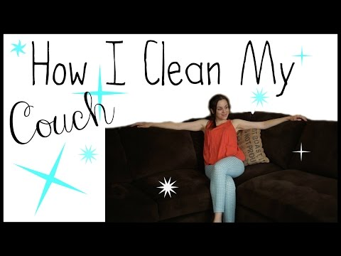 Clean My Sectional With Me | Tips for Cleaning Your Couch