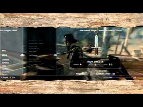Elder Scrolls Skyrim how to level Smithing to 100