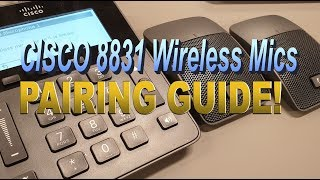 Cisco CP-8851 Unboxing & BT Pairing (4K) - PakVim net HD