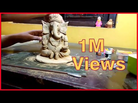 How To Make Eco Friendly Ganesh. Part 2 . 2017 | clay art