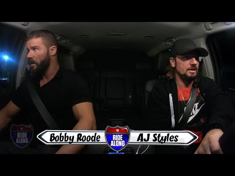 Bobby Roode & AJ Styles argue over eating egg yolks on WWE Ride Along (WWE Network Exclusive)
