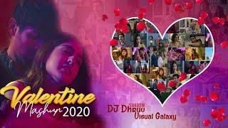 Valentine Mashup 2020   DJ Shadow Dhruv   Visual Galaxy   Valentine Special   Love Songs 2020