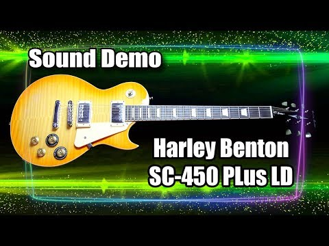 Demo Harley Benton (SC450 Plus LD)