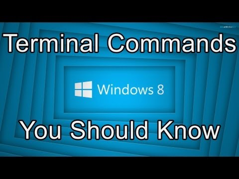 Top 5: Windows 8 Command Prompt Commands You Should Know