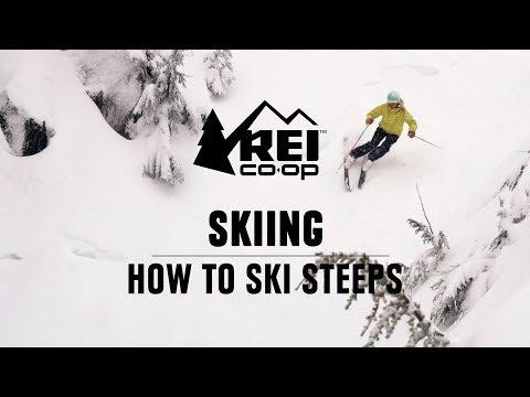 How to Ski Steeps    REI