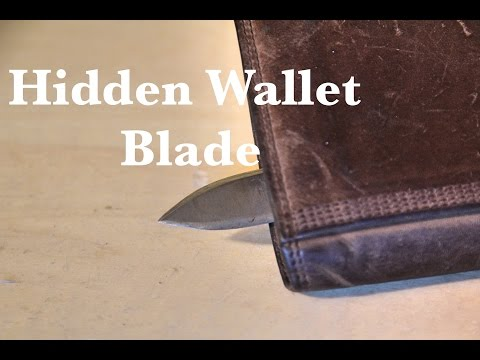 Making an Automatic Hidden Wallet Knife
