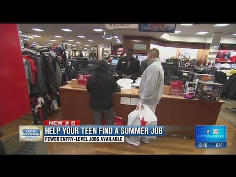 Help your teen find a summer job