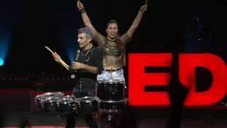 A drum and dance sensation 3 | Tararam Group! | TEDxTelAviv