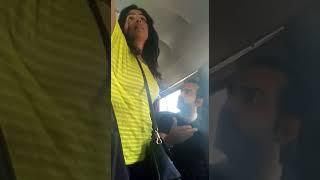 Shocking Mumbai bus fight. Ladies seat vs Gents seat