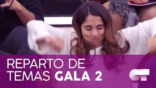 REPARTO DE TEMAS   Gala 2   OT 2020