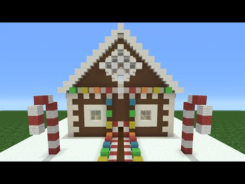 Minecraft Tutorial: How To Make A Christmas Themed House