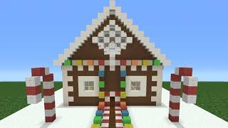 minecraft tutorial how to make a christmas themed house - Christmas Minecraft Videos