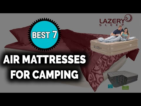 Best 7 Air Mattresses for Camping in 2018