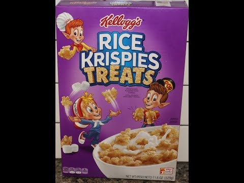 Kellogg's Rice Krispies Treats Cereal Review