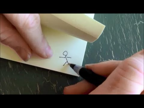 How to make a flip book animation - SO FUN and SIMPLE!