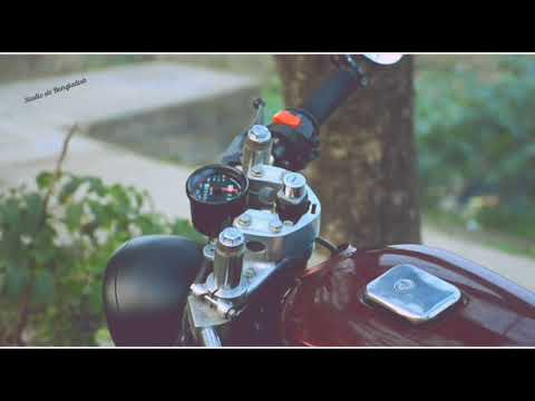 Custom made Cafe racer bike promotional video work by studio six Bangladesh
