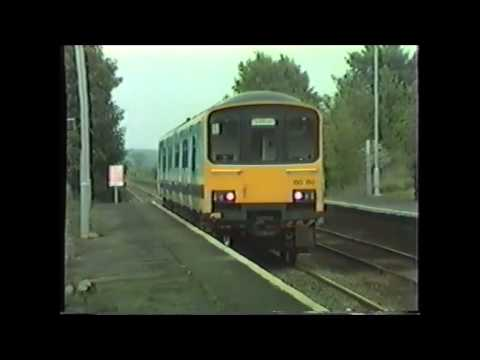 Trains on the Grantham to Nottingham line May 1987