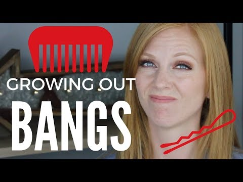 GROWING OUT BANGS!