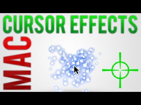 Mac: Add cool effects to your Cursor (Mouse)