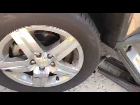 How to Change the Front Brake Pads on a 2008 Chevy Equinox
