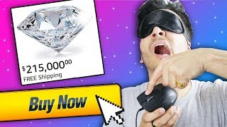 Accidentally Bought REAL DIAMOND... Buying 100% Random Products from AMAZON! (MUST BUY)