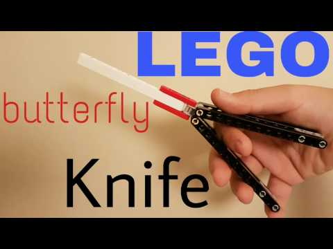 How to make Lego Butterfly Knife