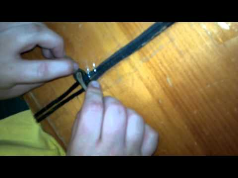 How to make a duck call lanyard part 1