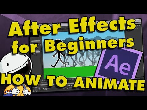 After Effects Tutorial Beginner CS6/CC | How To Make a Cartoon Animation