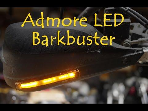 Barkbuster Storm Guard & Admore Led turns signals