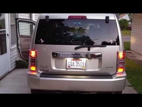 2008 Jeep Liberty KK tail light hack