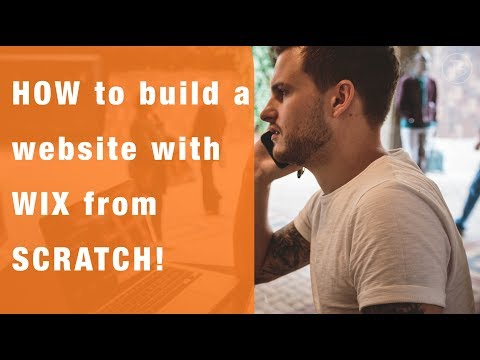 How to build a website with WIX from SCRATCH!  WIX Website Tutorial 2017