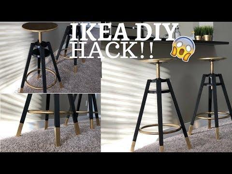 IKEA HACK!! DIY Bar stools [Luxury]