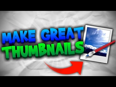 How To Make Great Custom YouTube Thumbnails FREE | Paint.NET Tutorial [2017] NO PHOTOSHOP