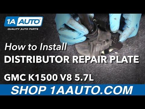 How to Install Distributor Repair Plate 1996-99 GMC K1500 V8 5.7L