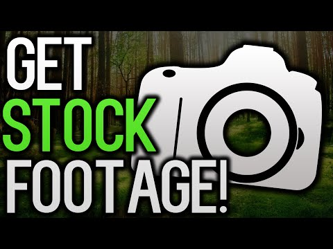 How To Get STOCK FOOTAGE For Your Videos!