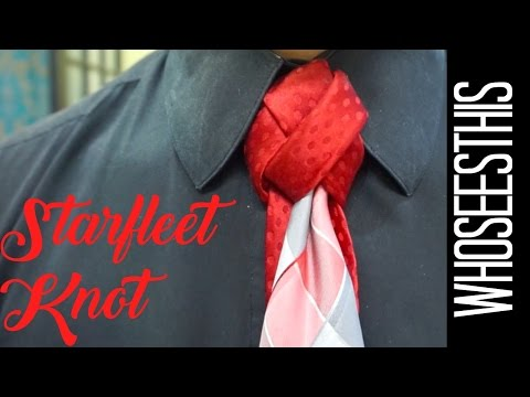 Starfleet Knot   How to tie a tie   HD Quality